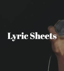 Lyric Sheets
